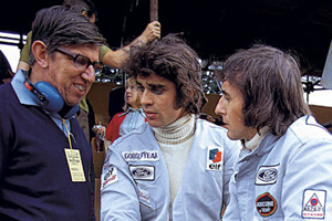 Tyrrell has a chat with Cevert and Stewart